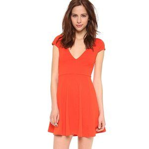 MINKPINK Bold As Love Textured Fit & Flare Dress